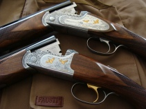 Solidly built and beautiful to behold, Fausti's guns are gaining quite a following in the U.S. and abroad.
